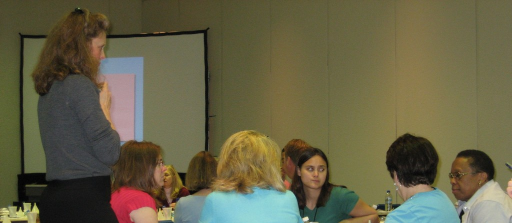 We conduct workshops at national and regional teaching conferences.